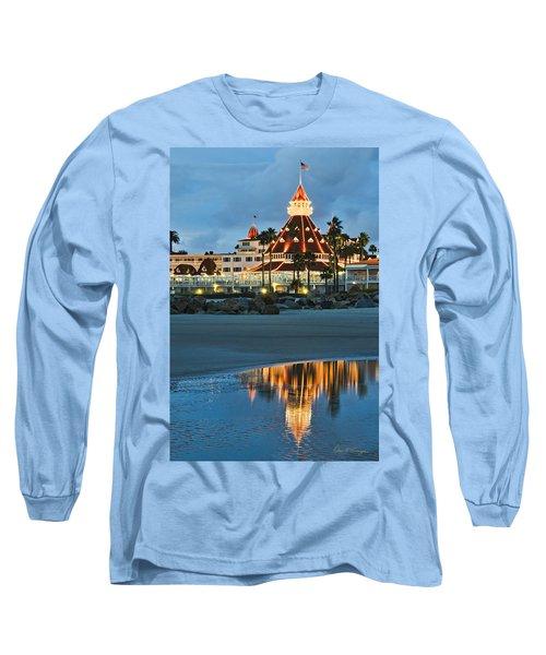 Beach Lights Long Sleeve T-Shirt