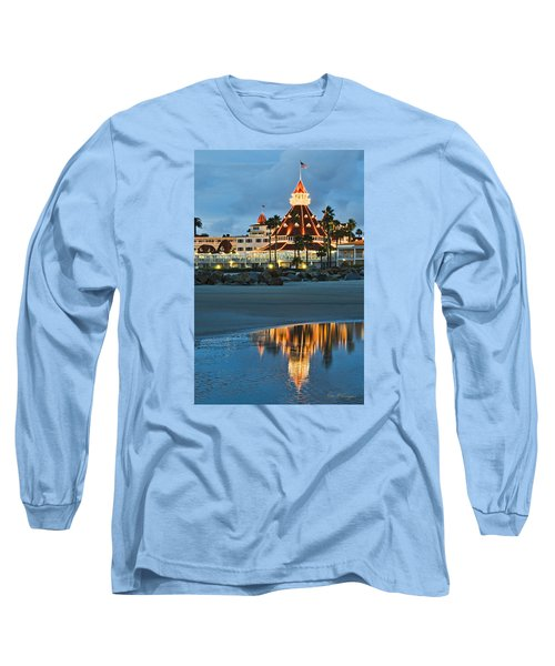 Beach Lights Long Sleeve T-Shirt