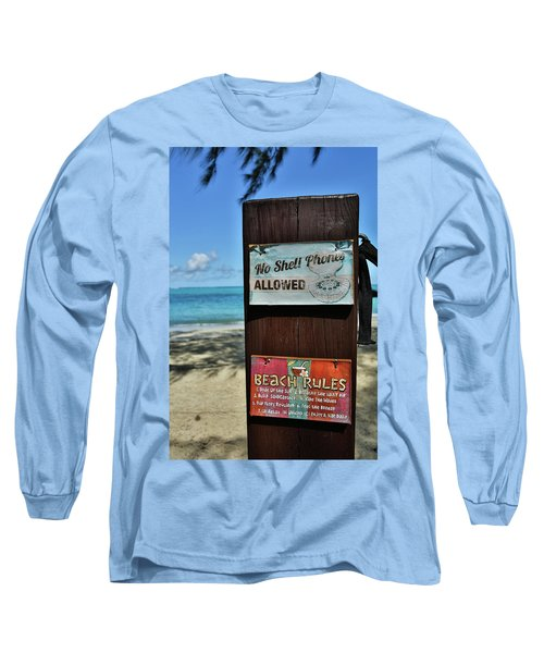 Beach Rules Long Sleeve T-Shirt