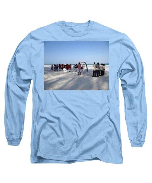Beach Wedding In Kenya Long Sleeve T-Shirt