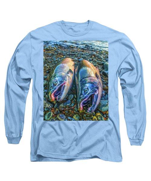 Beached Coho Long Sleeve T-Shirt