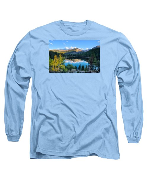 Bear Lake Reflection Long Sleeve T-Shirt by Ronda Kimbrow
