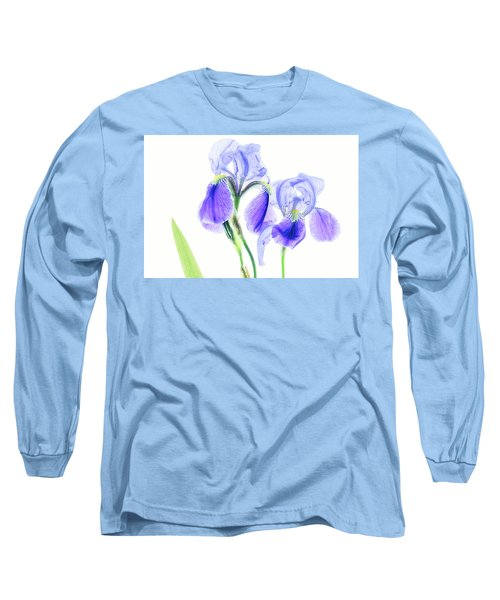 Bearded Iris Long Sleeve T-Shirt