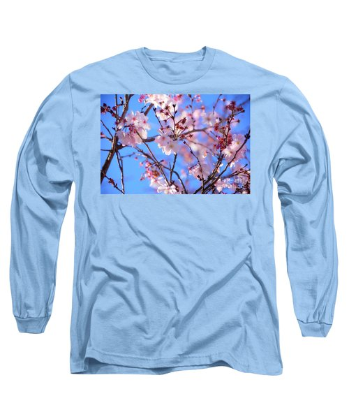 Beautiful Blossoms Blooming  For Spring In Georgia Long Sleeve T-Shirt