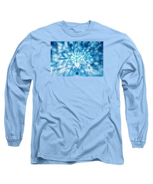 Beautiful Christmas Background Long Sleeve T-Shirt