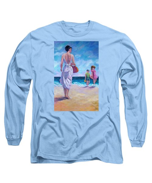 Beautiful Day At The Beach Long Sleeve T-Shirt