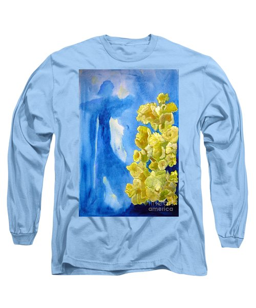 Long Sleeve T-Shirt featuring the painting Beautiful Dreamer by Sandy McIntire