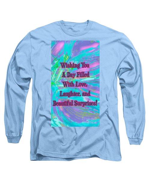 Beautiful Surprises Long Sleeve T-Shirt