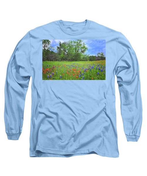 Beautiful Texas Spring Long Sleeve T-Shirt by Lynn Bauer