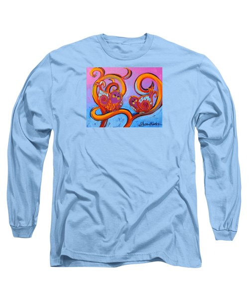 Because I'm Rachel Dammit Birdys Long Sleeve T-Shirt