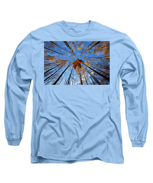 Long Sleeve T-Shirt featuring the photograph Before The First Snow by Mircea Costina Photography