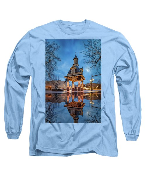 Long Sleeve T-Shirt featuring the photograph Bell Tower  In Beaver  by Emmanuel Panagiotakis