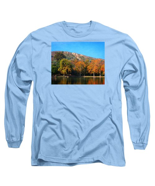 Long Sleeve T-Shirt featuring the photograph Below Puma Ridge by Timothy Bulone