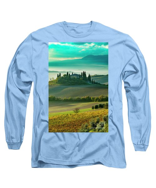 Long Sleeve T-Shirt featuring the photograph Belvedere - Tuscany II by Brian Jannsen
