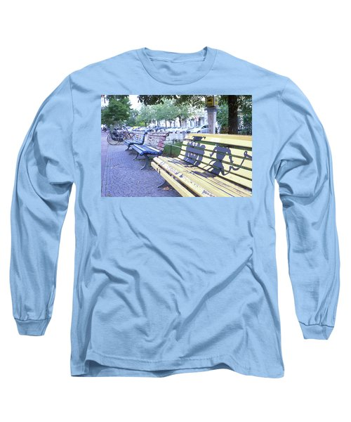 Bench Graffiti Long Sleeve T-Shirt