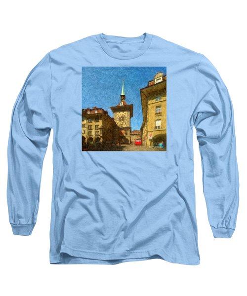 Bern Clock Tower Long Sleeve T-Shirt