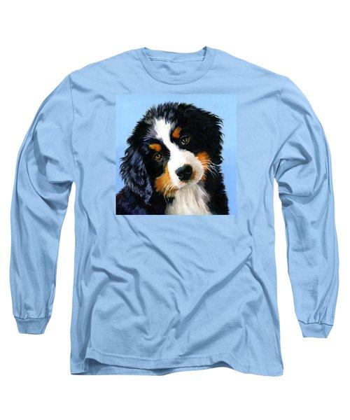 Bernese Mountain Puppy Long Sleeve T-Shirt