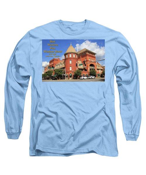 Best Western Plus Windsor Hotel Long Sleeve T-Shirt