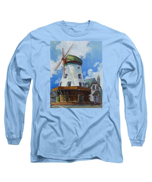 Bevo Mill - St. Louis Long Sleeve T-Shirt by Irek Szelag