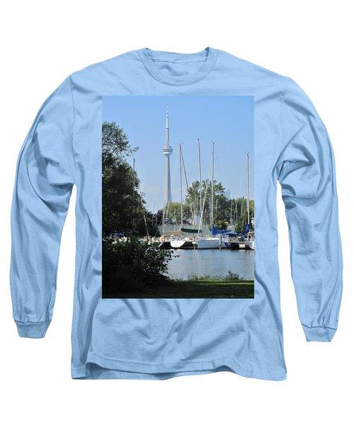 Beyond The Trees  Long Sleeve T-Shirt by Ian  MacDonald