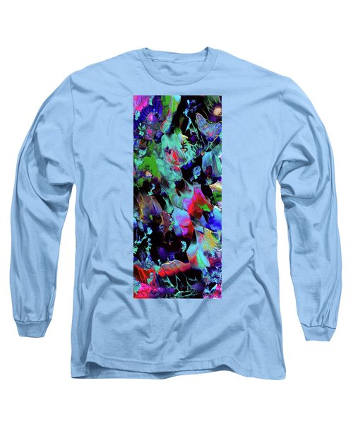 Beyond The Webbed Galaxy Long Sleeve T-Shirt