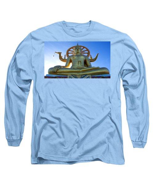 Big Buddha At Koh Samui Long Sleeve T-Shirt
