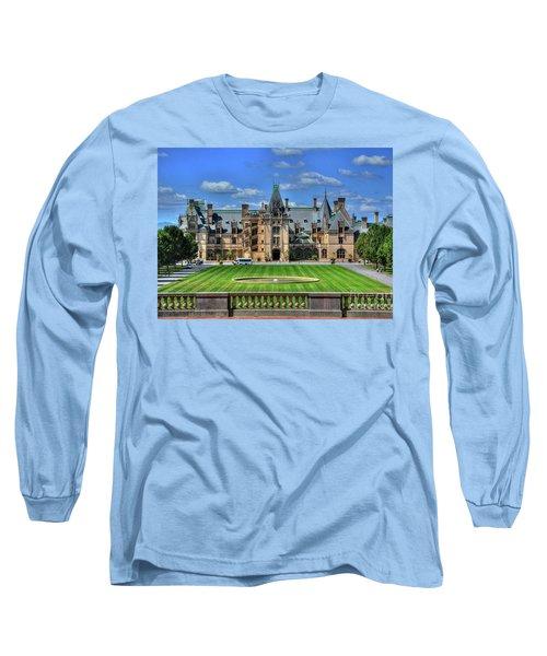 Biltmore Mansion Estate Asheville North Carolina  Long Sleeve T-Shirt