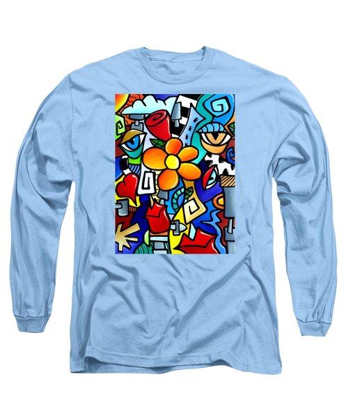 Biomechanical Love Long Sleeve T-Shirt by Tom Fedro - Fidostudio