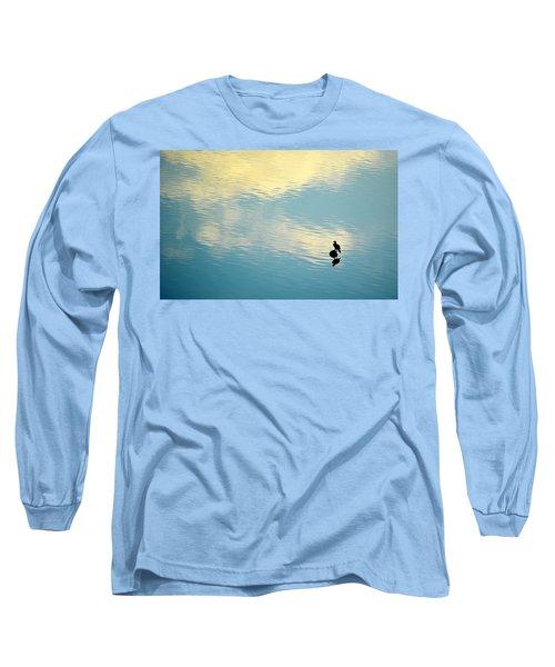 Bird Reflection Long Sleeve T-Shirt