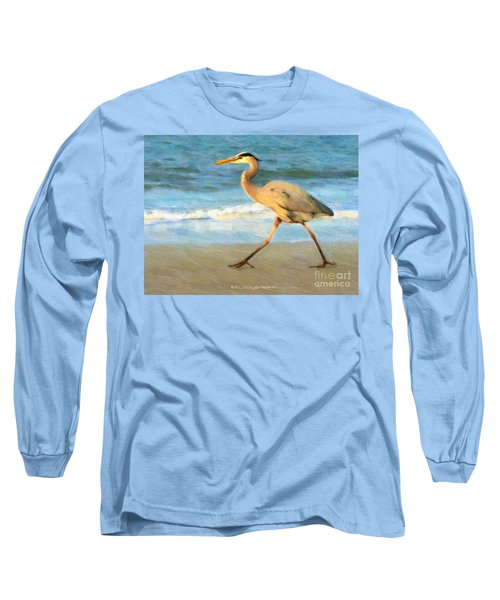 Bird With A Purpose Long Sleeve T-Shirt