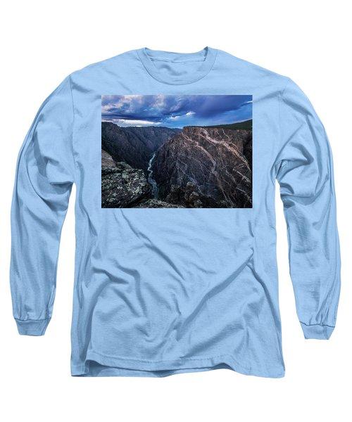 Black Canyon Of The Gunnison National Park Long Sleeve T-Shirt