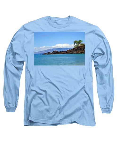 Black Rock Beach And Lanai Long Sleeve T-Shirt