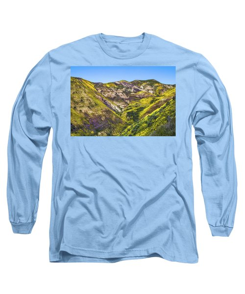 Blanketed In Flowers Long Sleeve T-Shirt