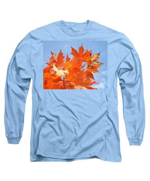 Blazing Maple Long Sleeve T-Shirt