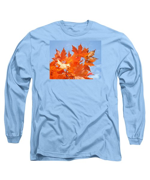 Blazing Maple Long Sleeve T-Shirt