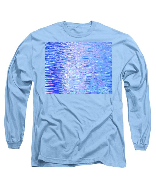 Blissful Blue Ocean Long Sleeve T-Shirt