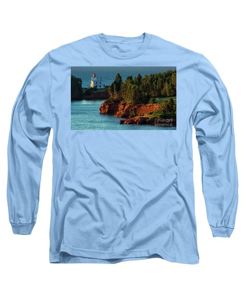 Blockhouse Point Lighthouse Long Sleeve T-Shirt