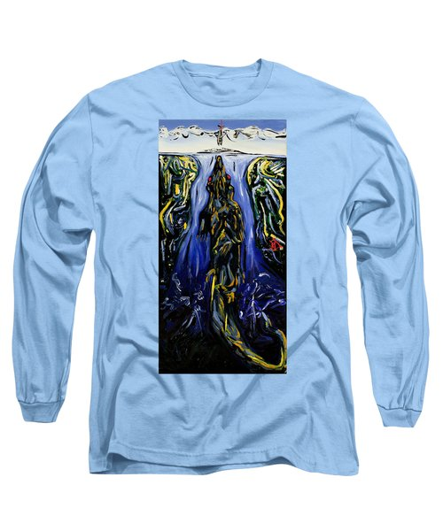 Blood Gulch Long Sleeve T-Shirt by Ryan Demaree