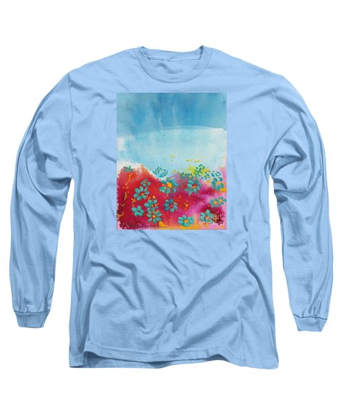 Blooms Long Sleeve T-Shirt by Shelley Overton