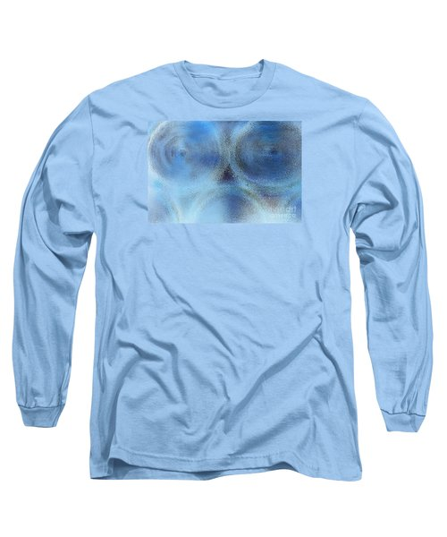 Blue Alien Long Sleeve T-Shirt