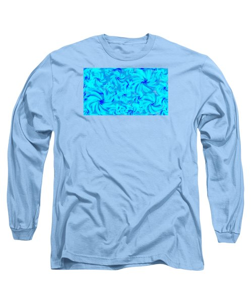 Blue And Turquoise 2 Long Sleeve T-Shirt