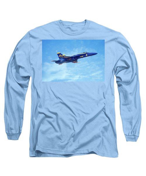 Blue Angel #5 In Arizona Long Sleeve T-Shirt