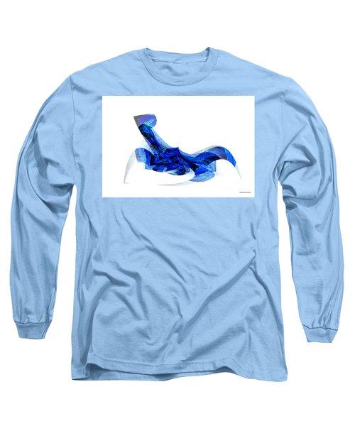 Blue Attitude Long Sleeve T-Shirt by Thibault Toussaint