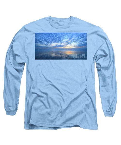 Beach Home Blues Long Sleeve T-Shirt