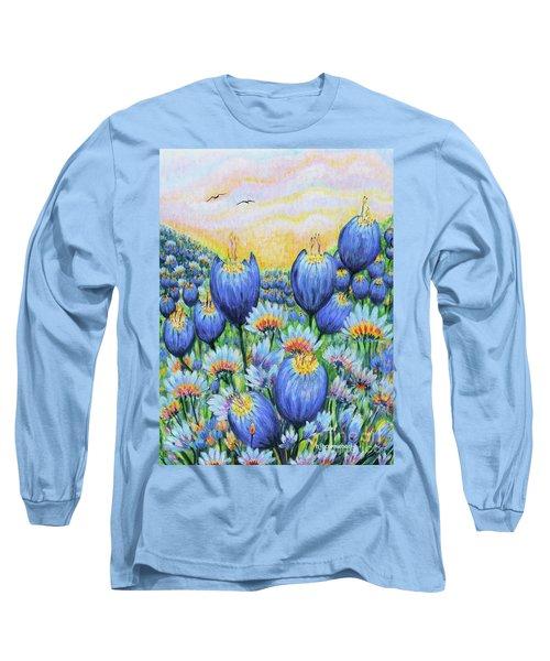 Blue Belles Long Sleeve T-Shirt