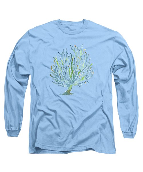 Blue Coral Long Sleeve T-Shirt