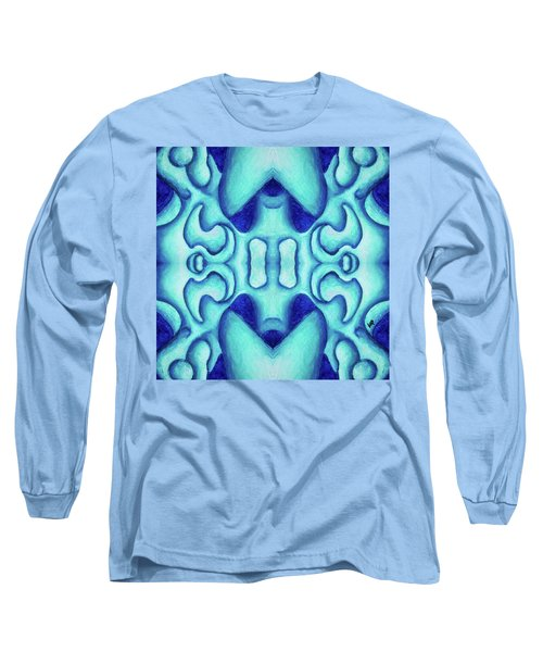 Blue Dream Long Sleeve T-Shirt by Versel Reid