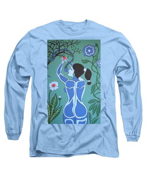 Blue Eve No. 1 Long Sleeve T-Shirt