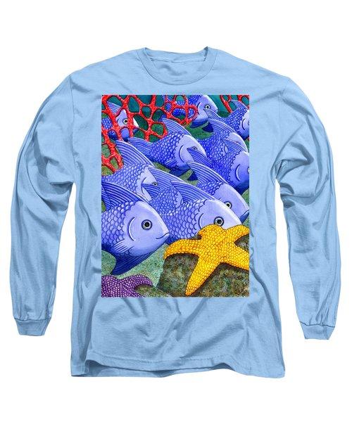 Blue Fish Long Sleeve T-Shirt