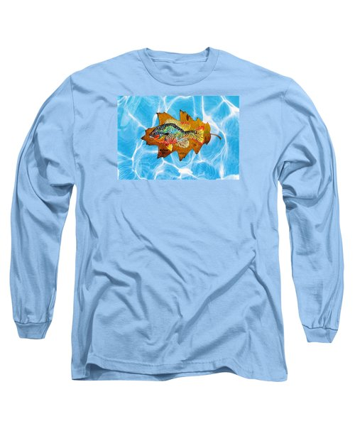 Blue Gill Long Sleeve T-Shirt by Ralph Root